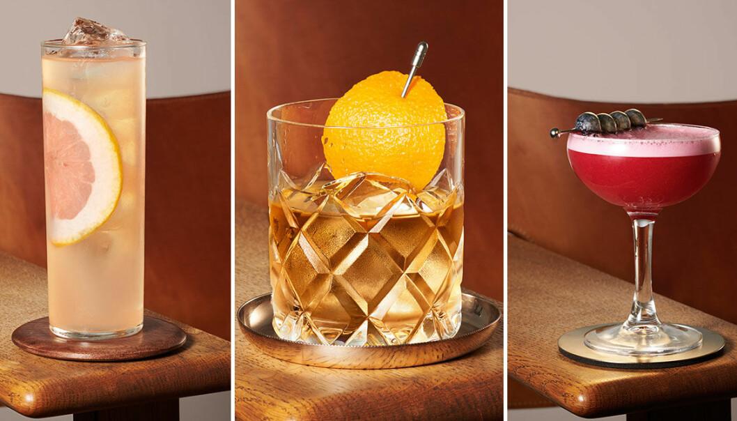 Uppdaterade klassiker med bourbon.