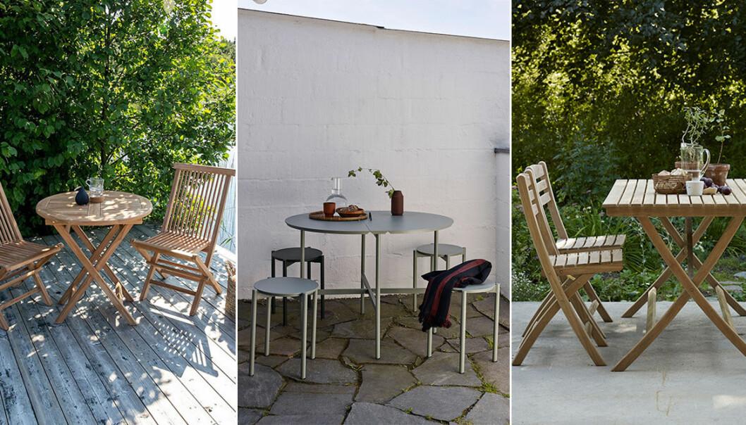 matbord för utomhusbruk