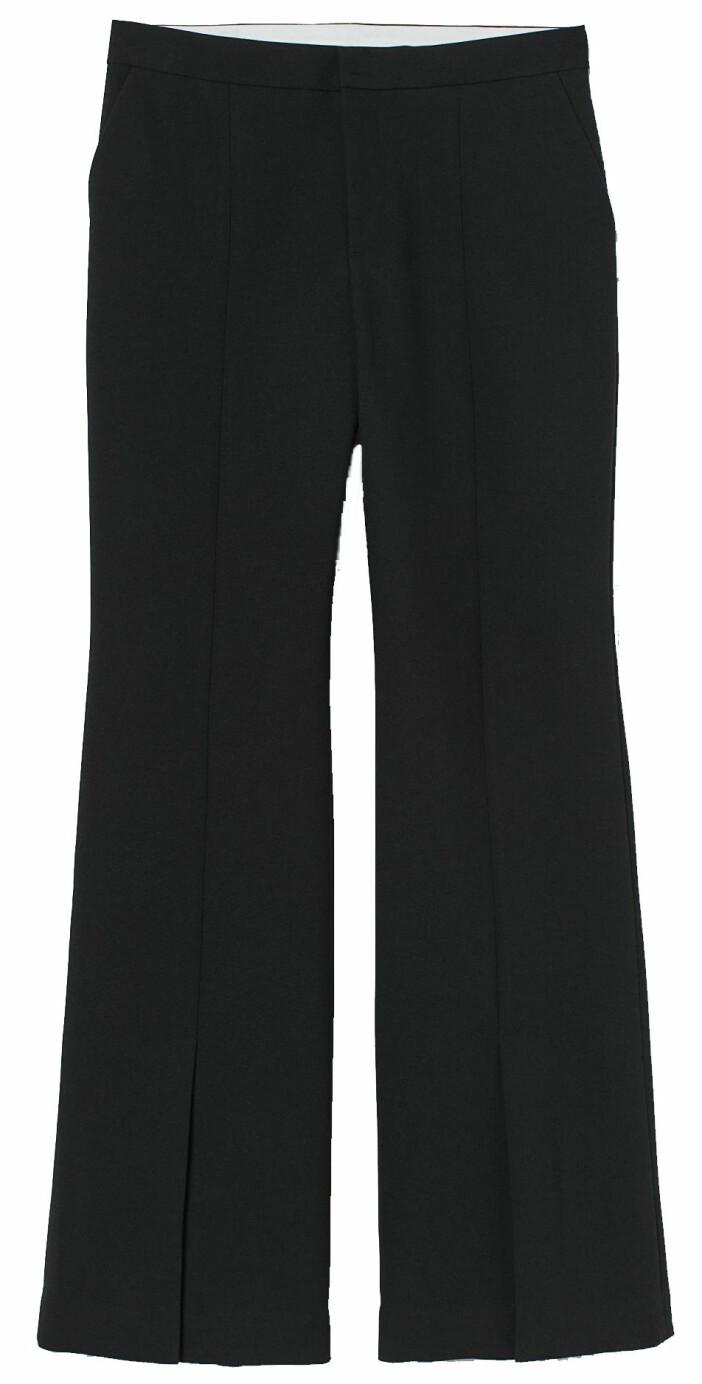 Utsvängda kostymbyxor från H&M.