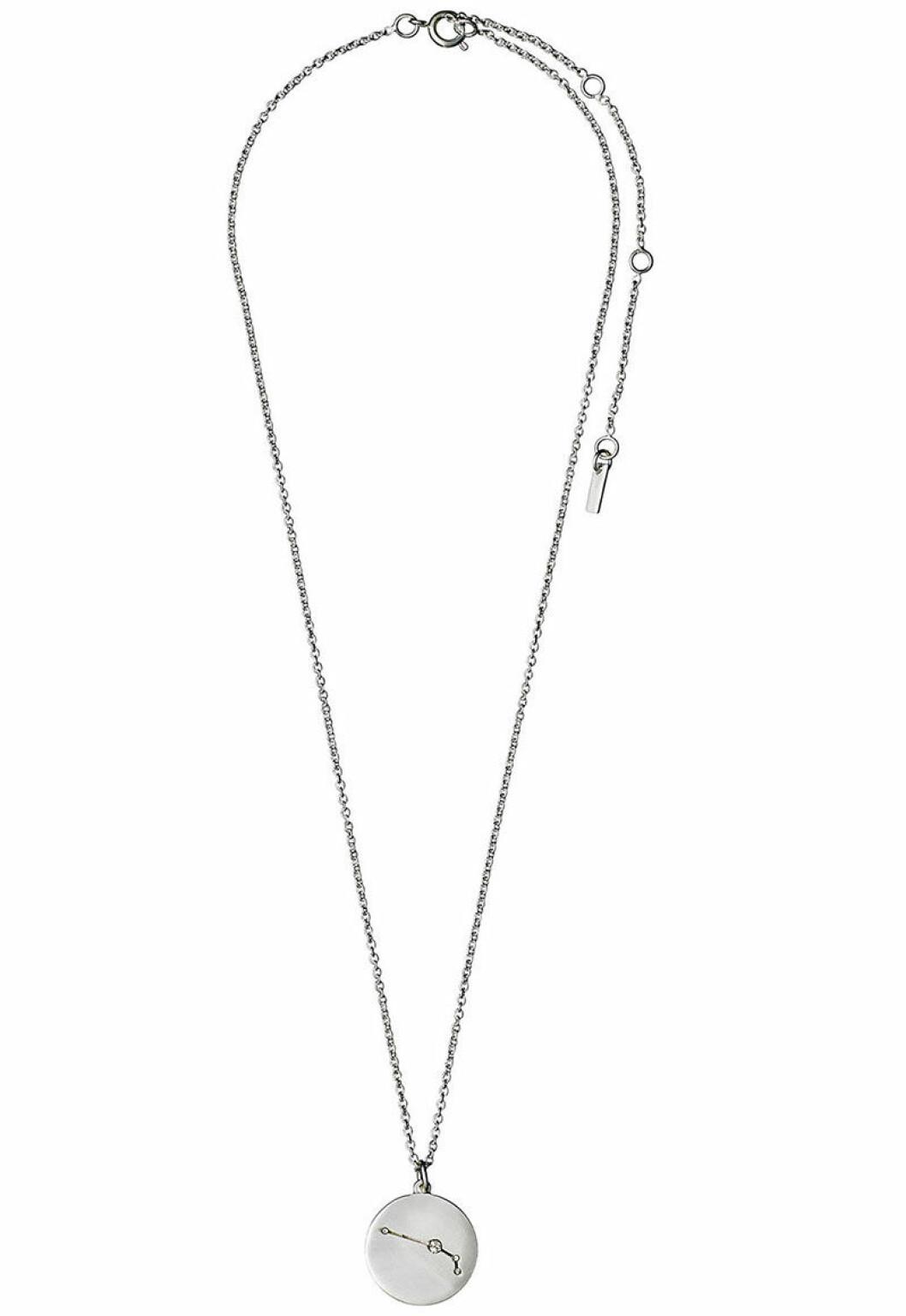 Väduren horoskop halsband i silver
