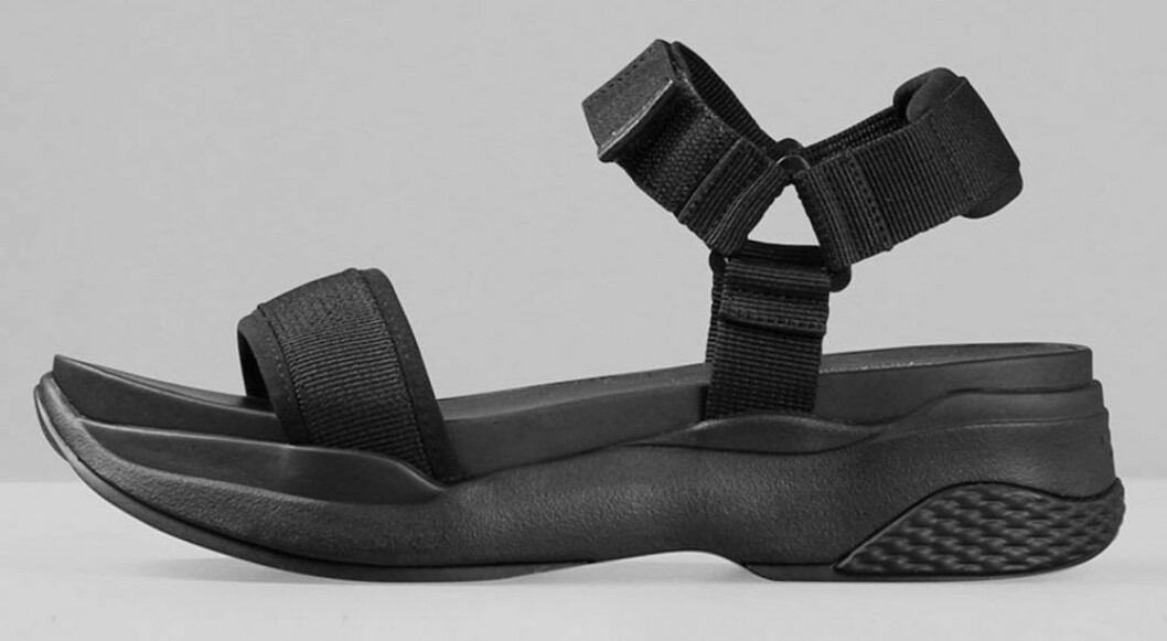 Sandaler med hög sula från Vagabond.