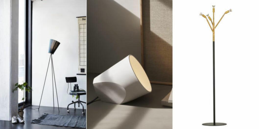 Använd lampor som är riktade uppåt och lyser på taket.