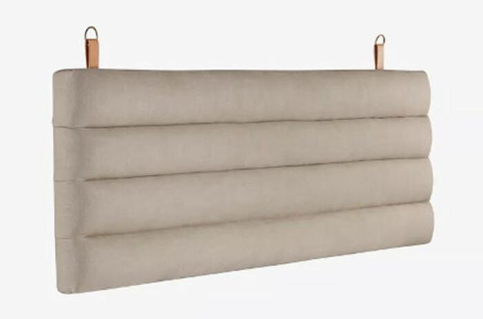 väggupphängd beige sänggavel från jotex