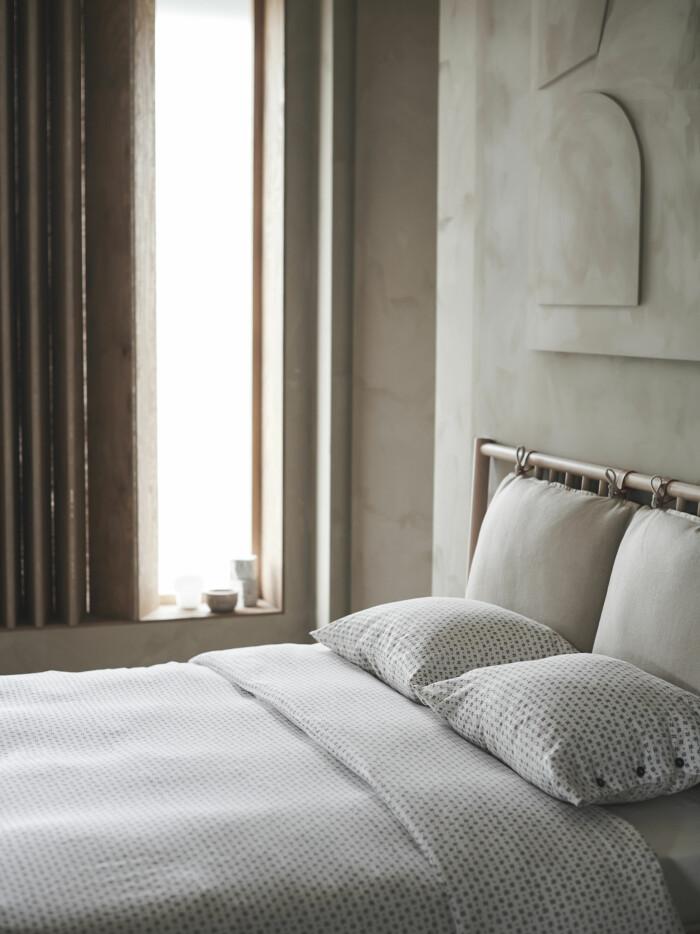 vägtåg sängkläder med japanskinspirerat mönster