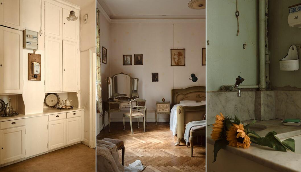 välbevarad sekelskiftesvåning med originaldetaljer på östermalm