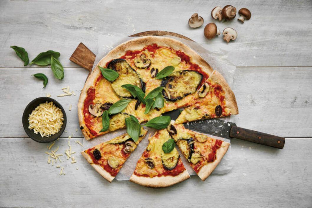 """Valio Oddlygood Veggie Grated har fått utmärkelsen """"Bäst på pizzan""""."""