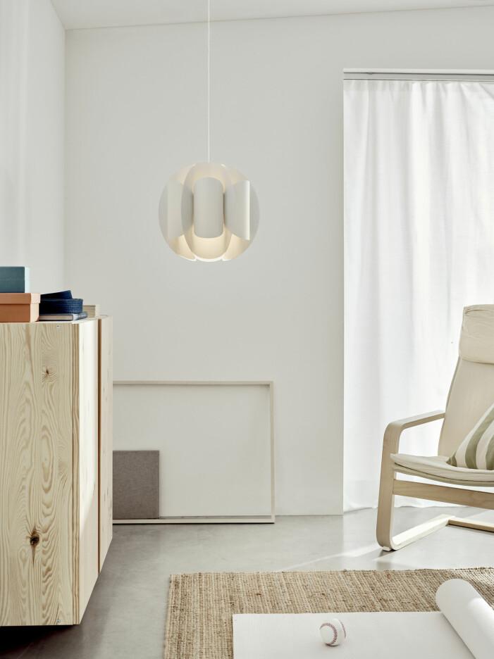 Vår- och sommarnyheter hos Ikea 2021, lampskärm Trubbnate