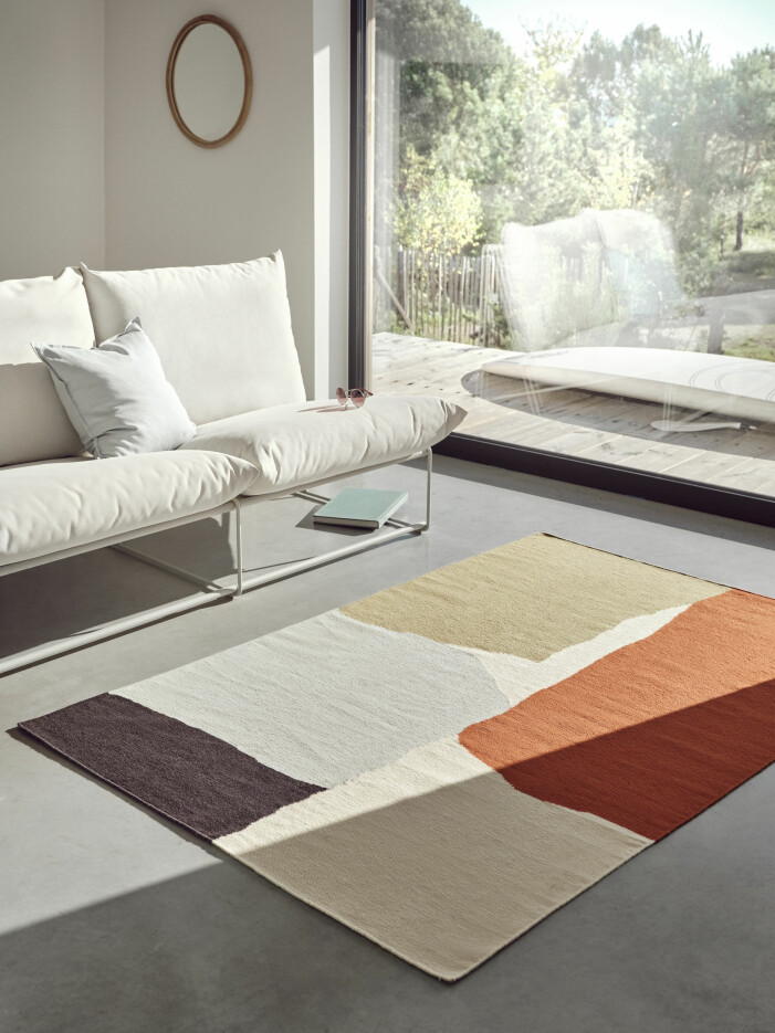 Vår- och sommarnyheter hos Ikea 2021, mattan Tvingstrup