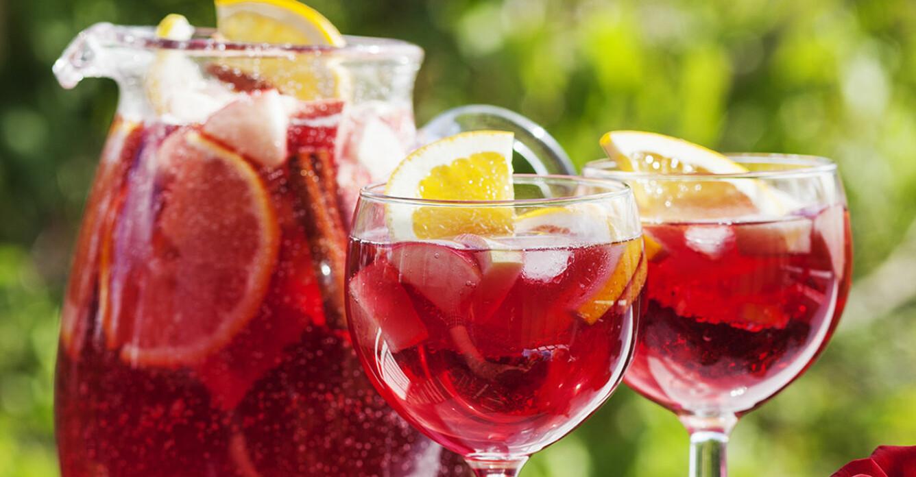 5 recept på sangria med rött, vitt och rosé
