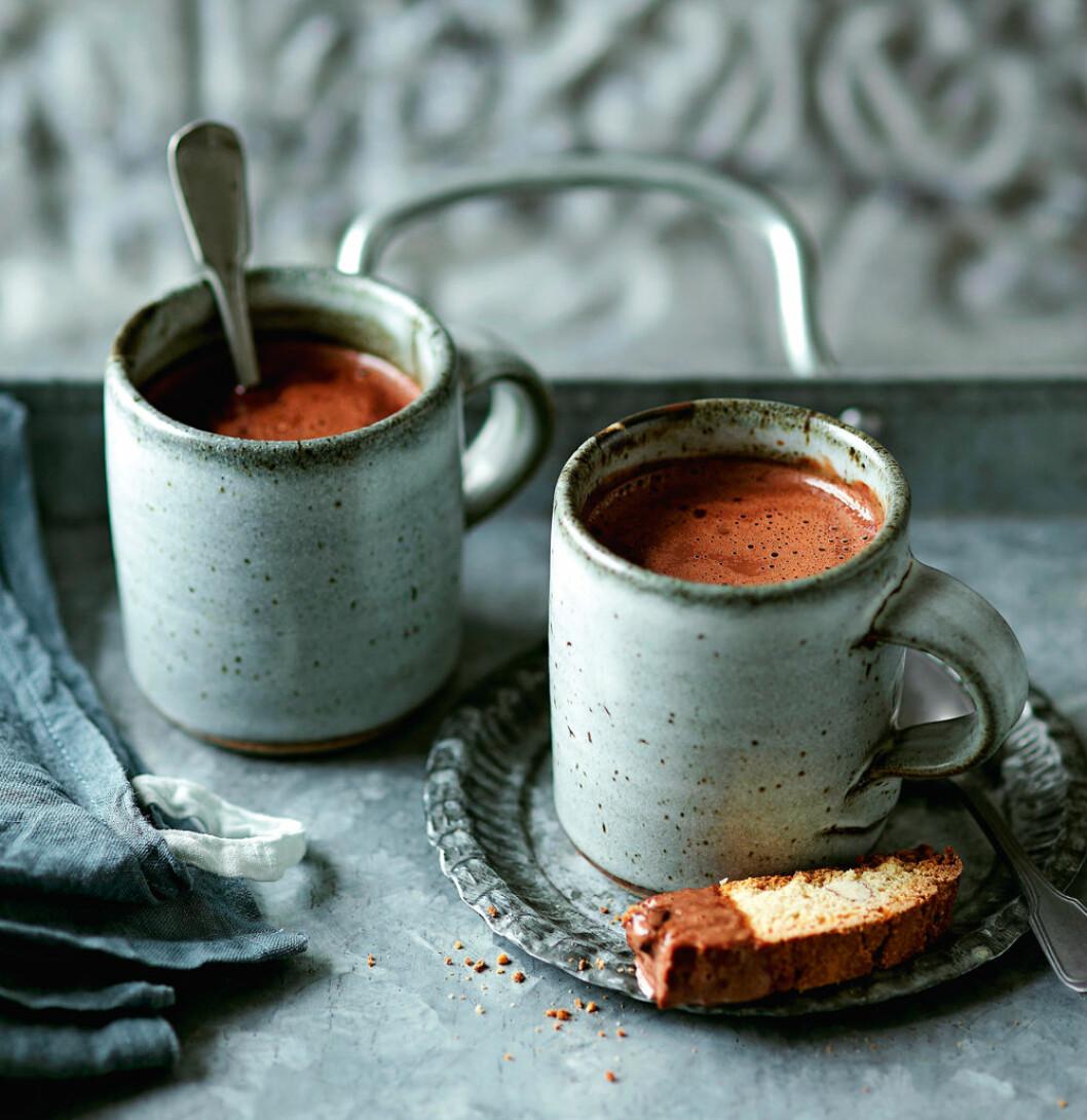 varm choklad havssalt