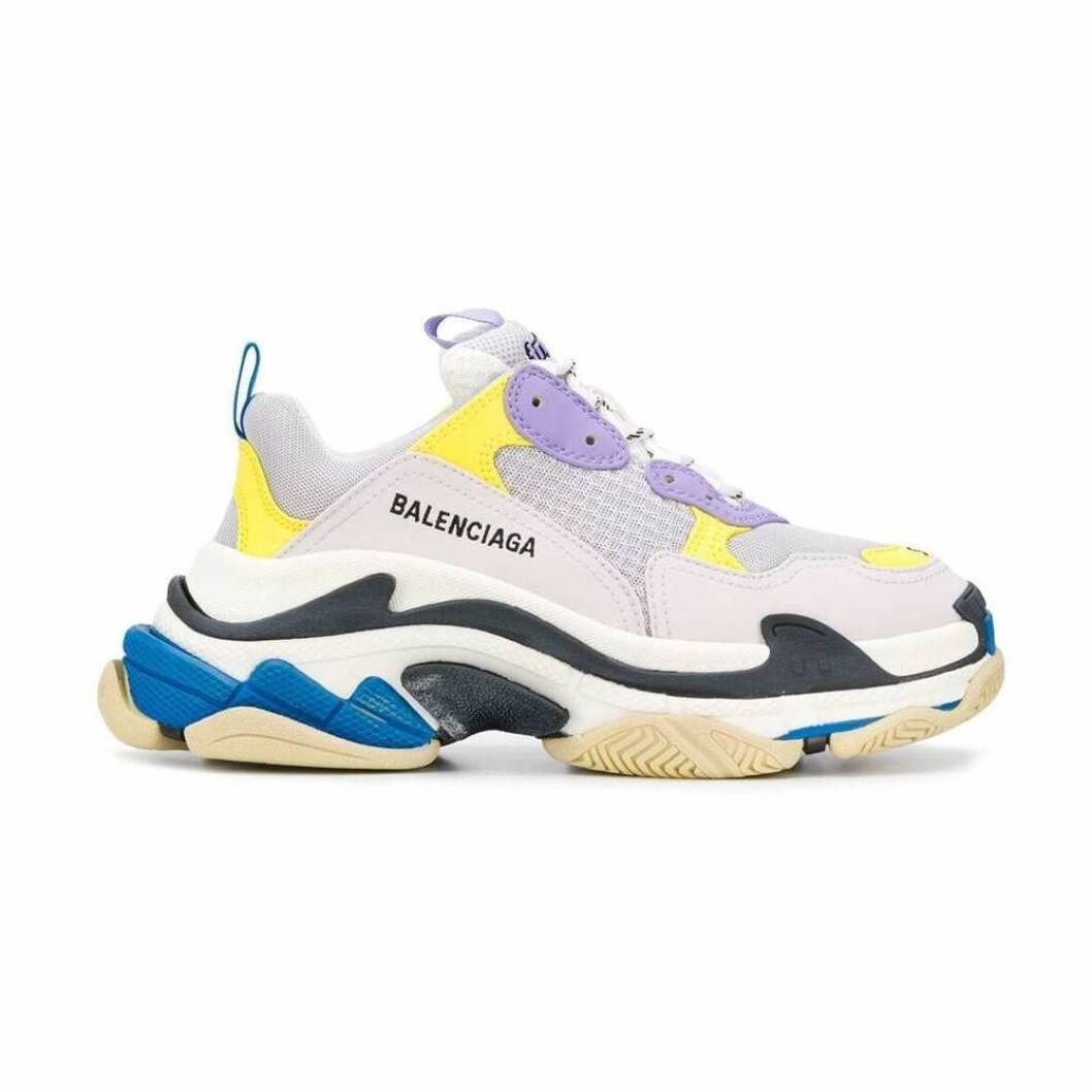 Trendiga sneakers i färg från Balenciaga