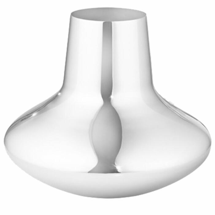 silverfärgad vas från Georg Jensen