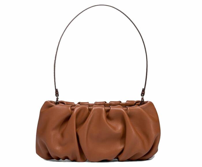 brun handväska