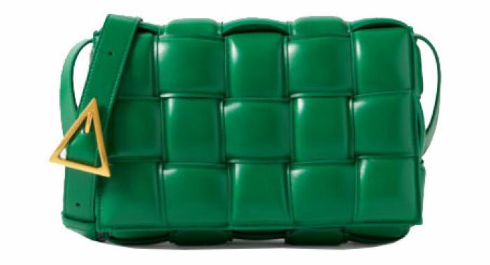 grön väska bottega veneta