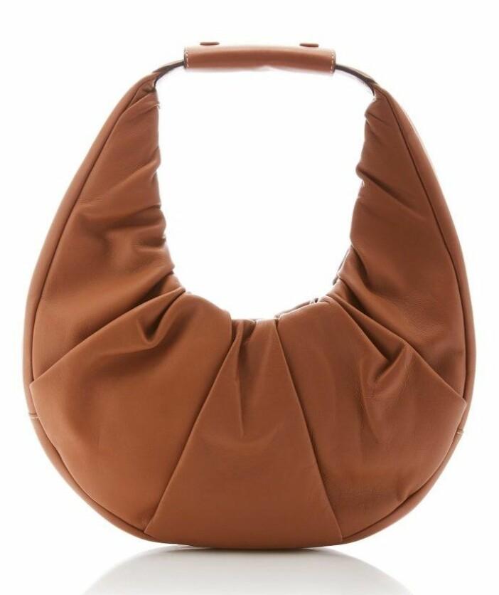 väska från staud i grfisk form.