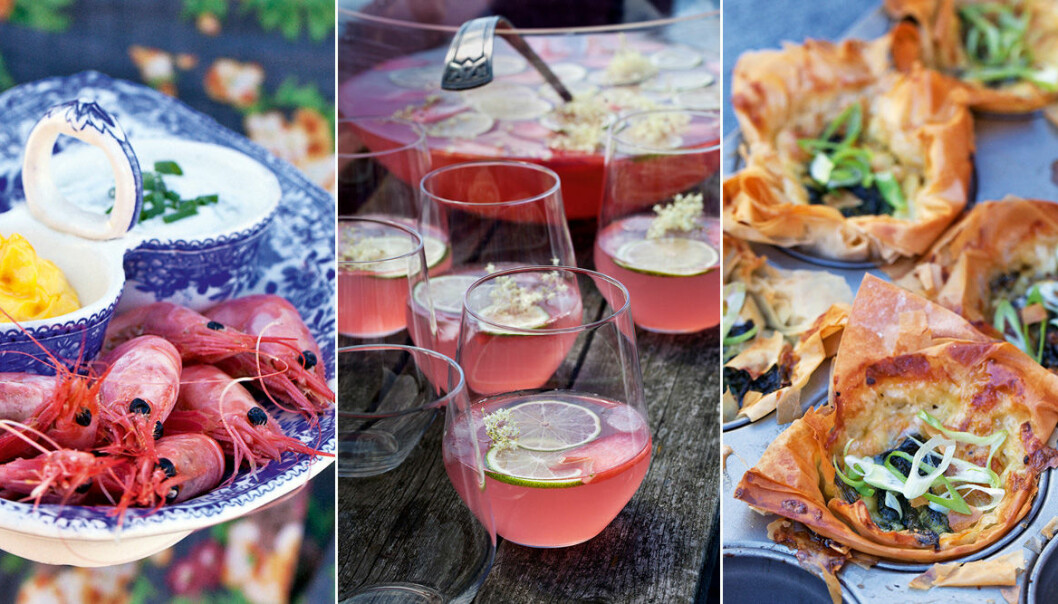 Bjud på sommarbuffé från västkusten – recept