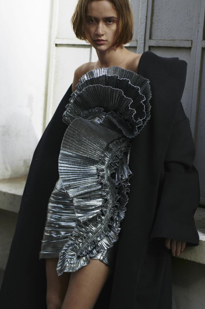 Silver klänning Alexandre Vauthier