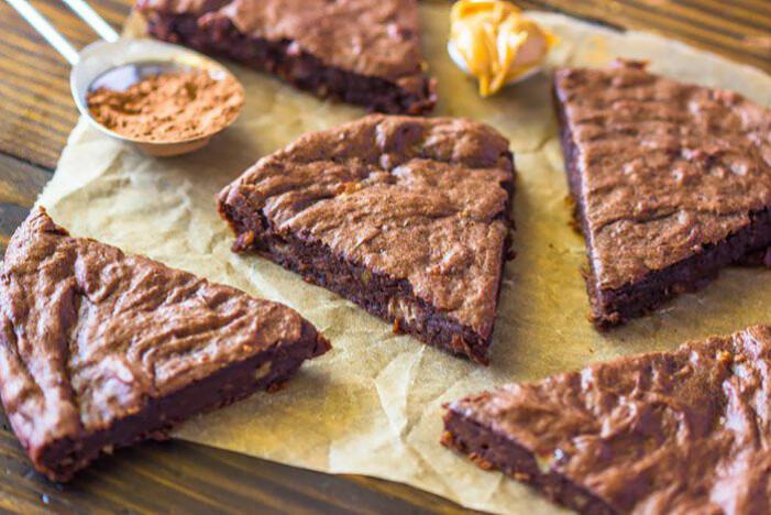 Recept på veganska brownies