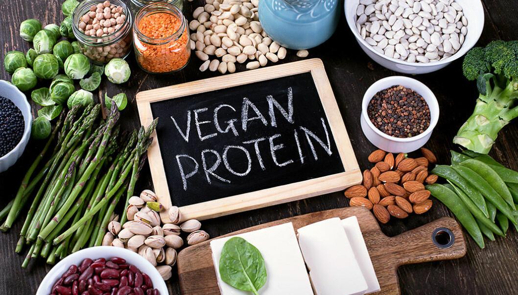 Det finns många veganska proteinkällor.