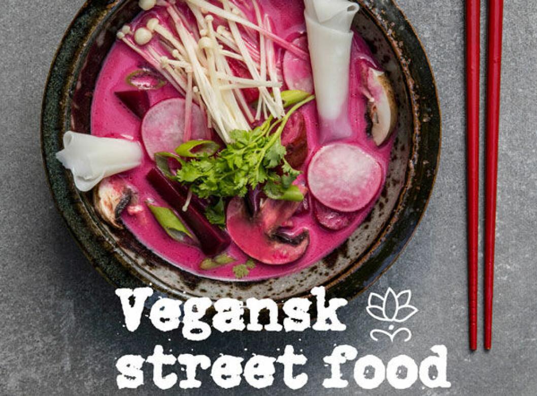 Vegansk street food av Lamyai Vozzi och Aidah Samphani