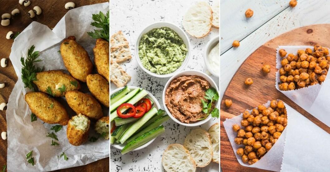Recept veganska snacks