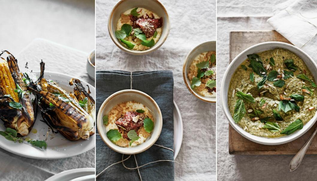 Lyxig vegetarisk grillmeny – 5 recept