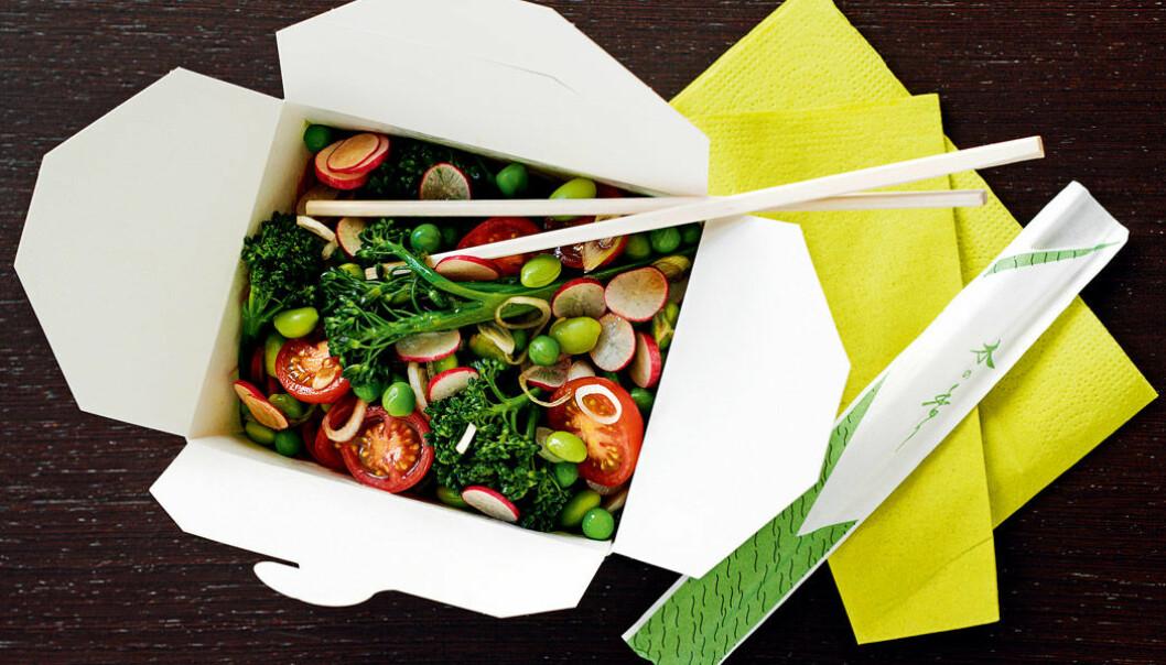 Asiatisk grönsakslåda.