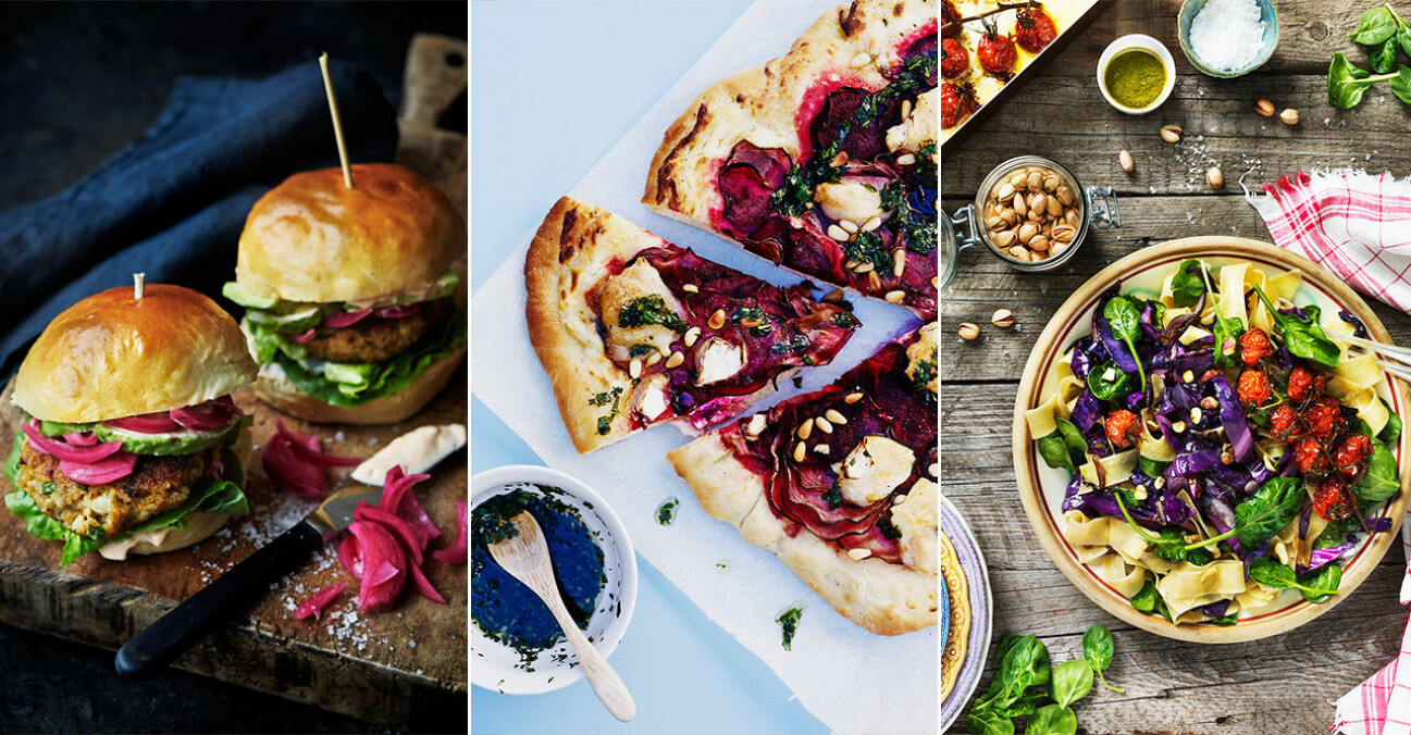 12 lyxiga vegetariska och veganska helgrecept