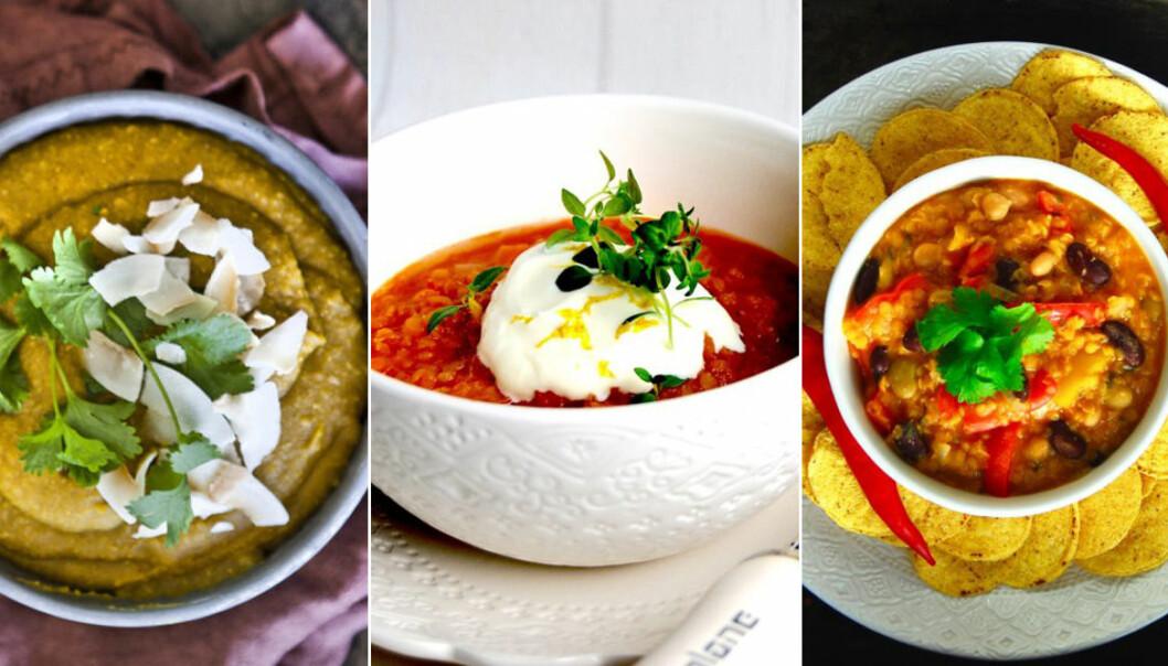 Recept på 7 goda vegetariska grytor