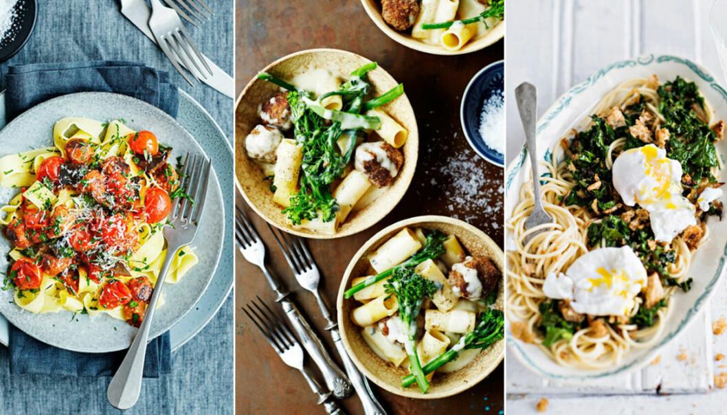 8 lyxiga recept på vegetariska pastarätter