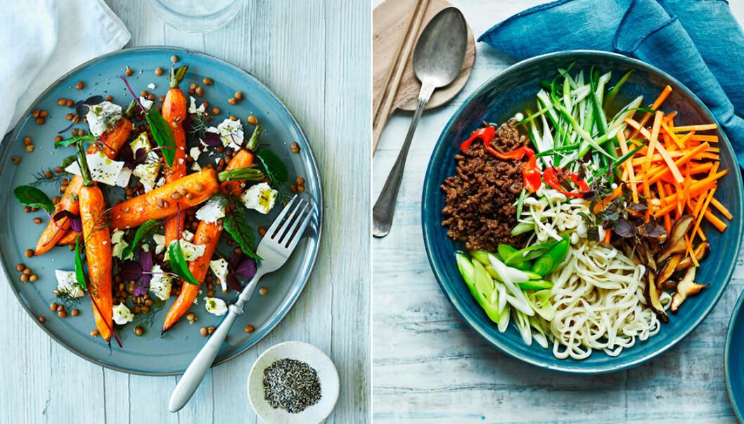 5 vegetariska recept