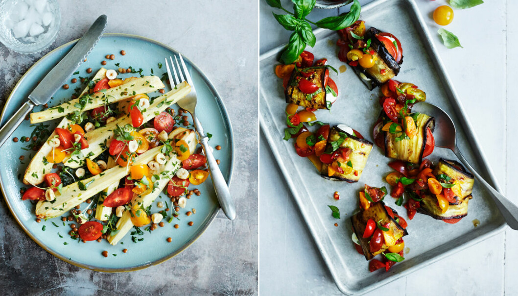 Vegetariska recept i ugn