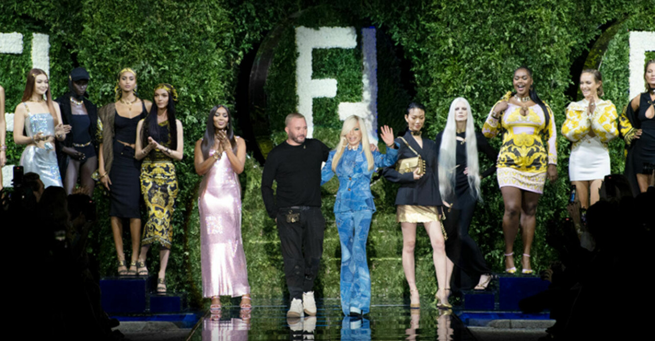 Versace och Fendi i samarbete under Milano Fashion Week SS22