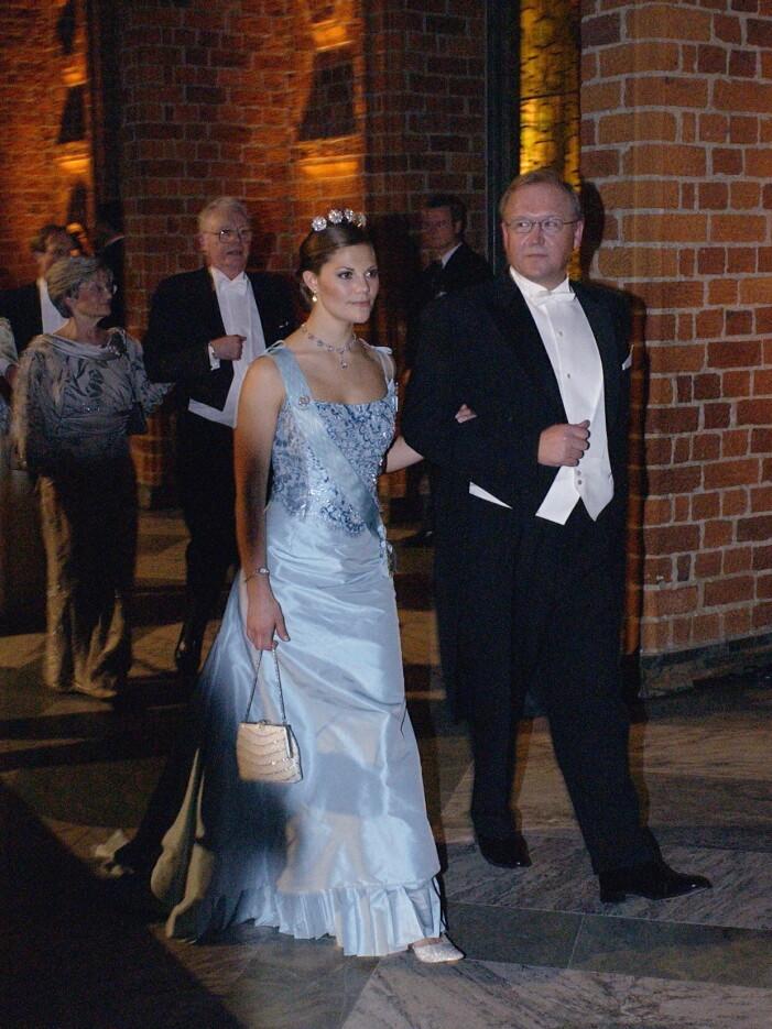 Kronprinsessan Victoria på Nobel 2003