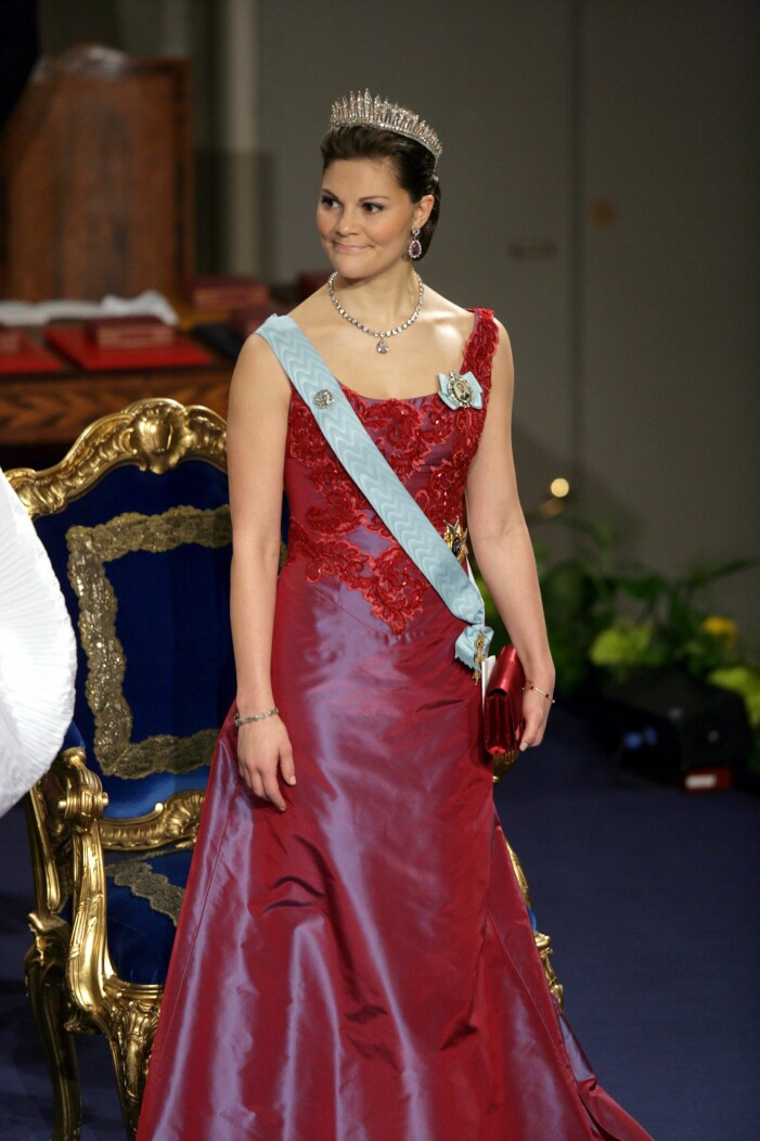 Kronprinsessan Victoria på Nobel 2006