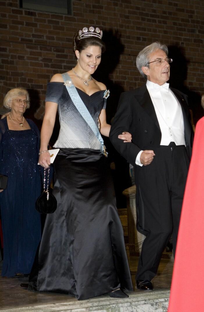 Kronprinsessan Victoria på Nobel 2007