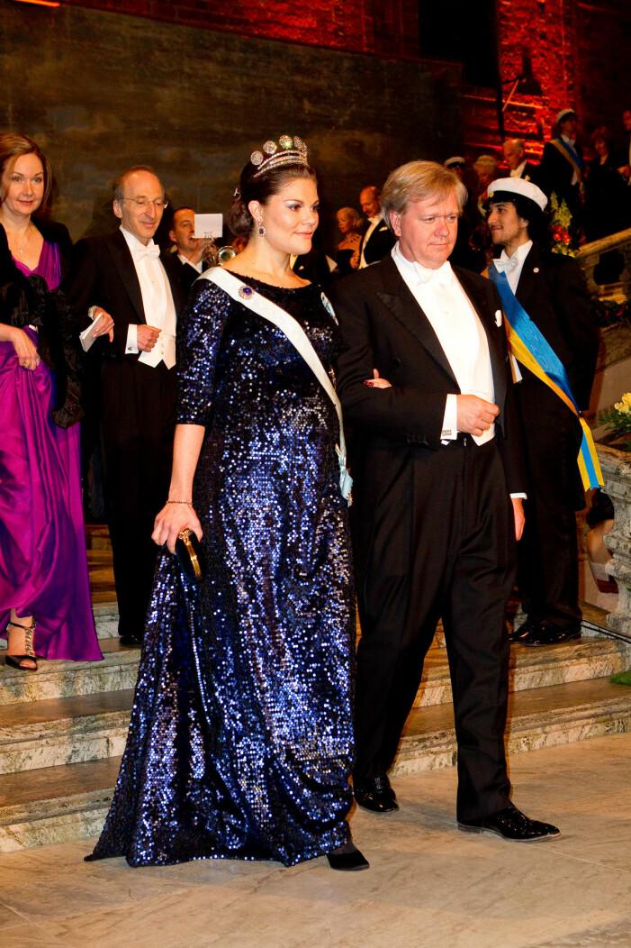 Kronprinsessan Victoria på Nobel 2011