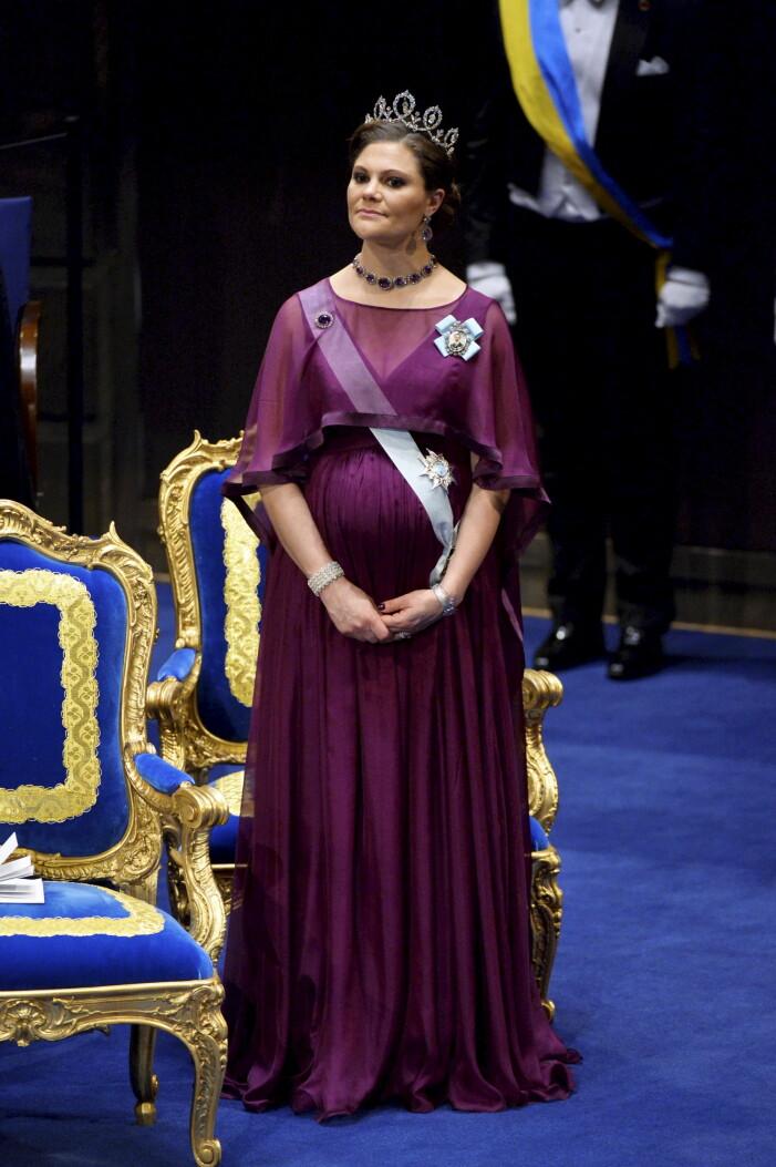 Kronprinsessan Victoria på Nobel 2015