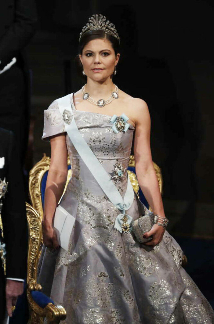 Kronprinsessan Victoria på Nobel 2016