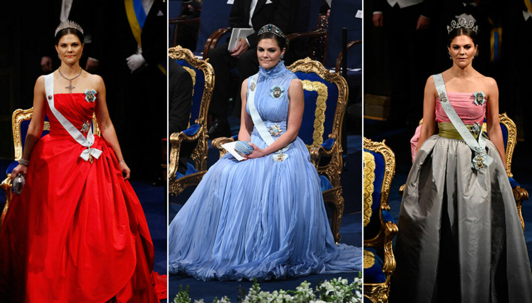 Kronprinsessan Victoria på Nobel