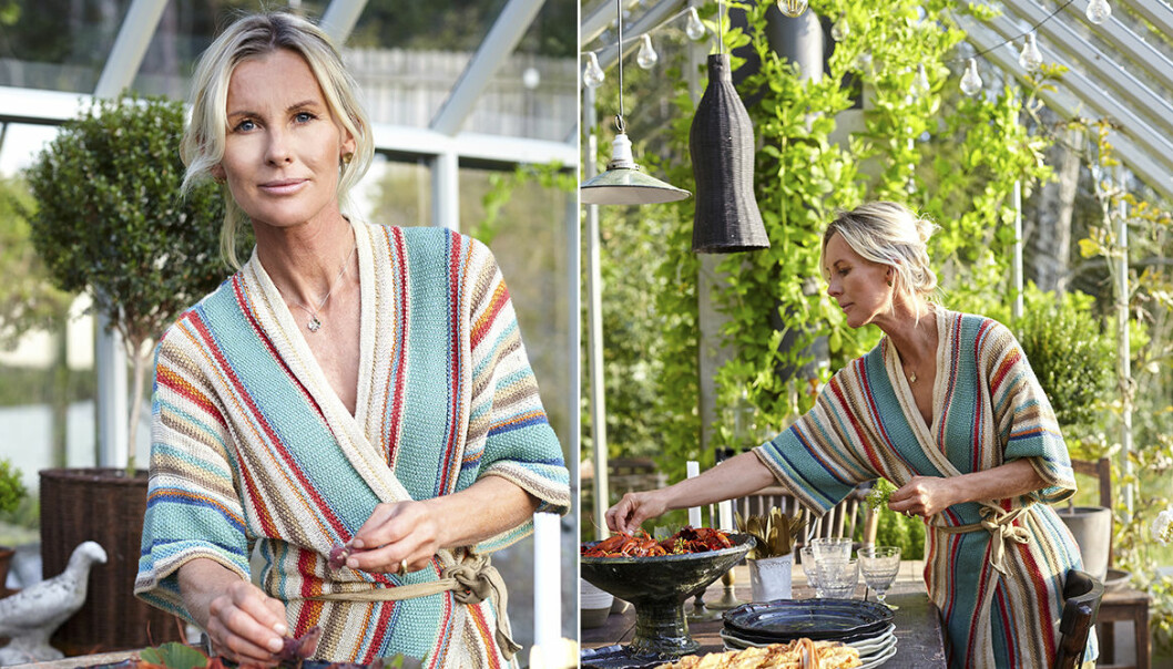 Porträtt Victoria Skoglund växthus