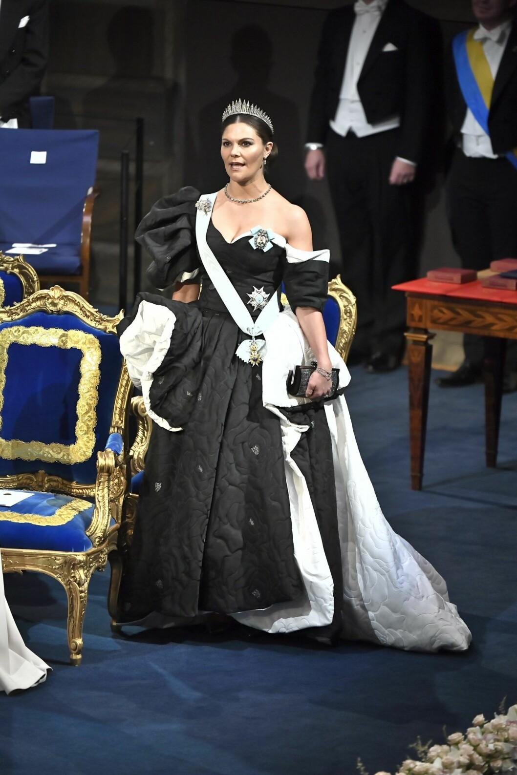 Victorias nobelklänning 2019 designad av Selam Fessahaye