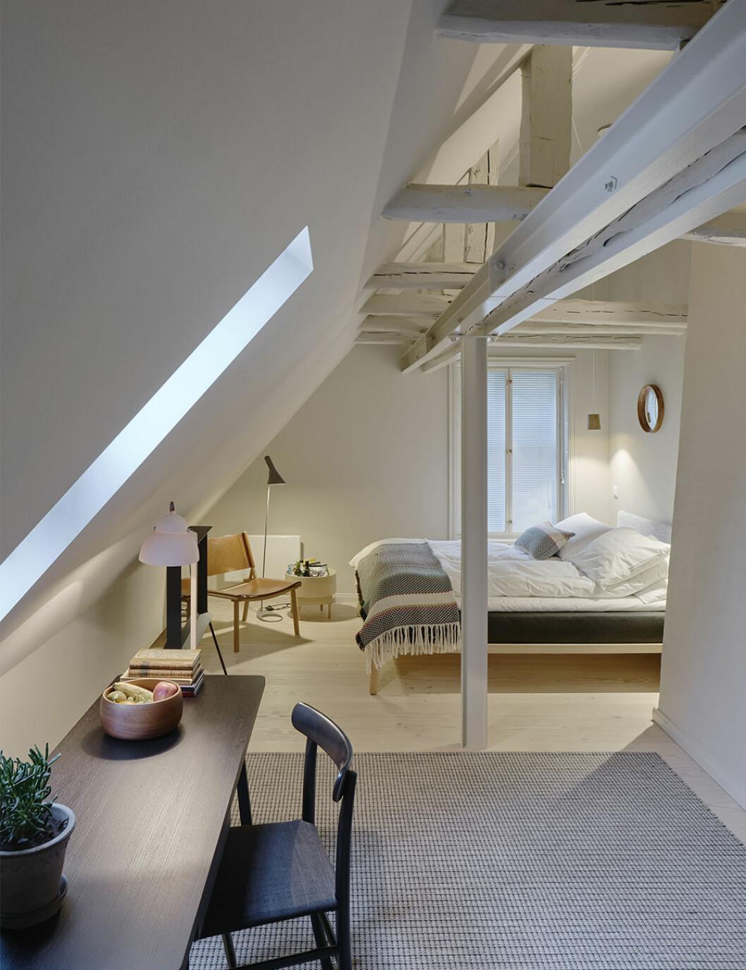 Hotellrum på Villa Terminus i Bergen