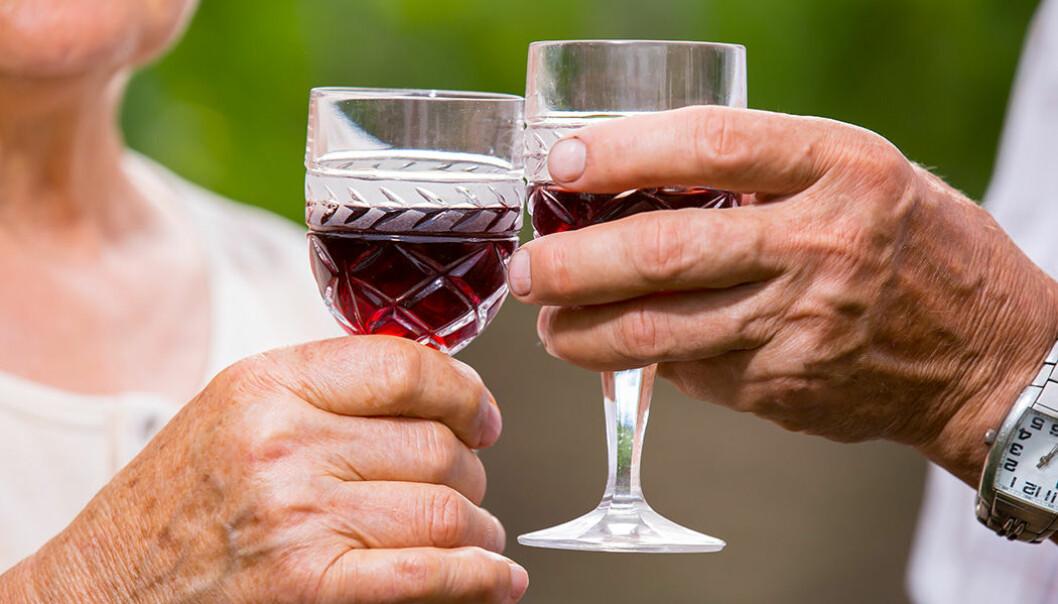 Vin minskar risken att dö i förtid.