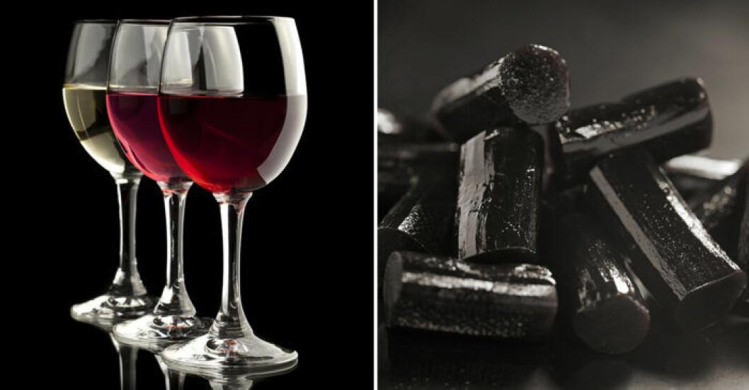 Vin och lakrits är en oväntat god kombination!
