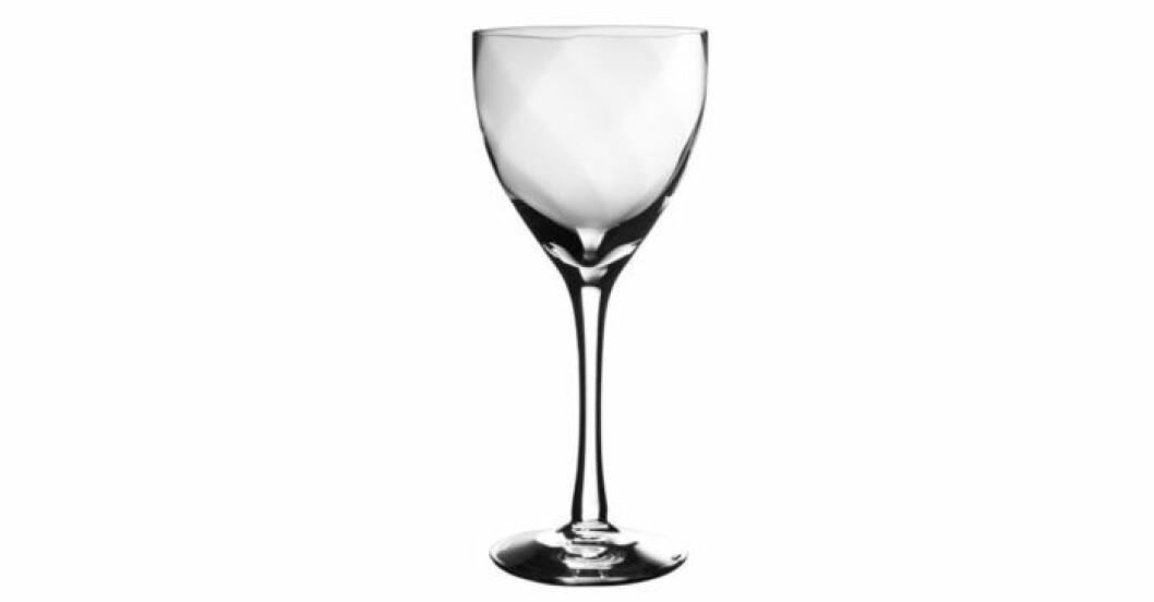 Stilrent vinglas från Kosta Boda