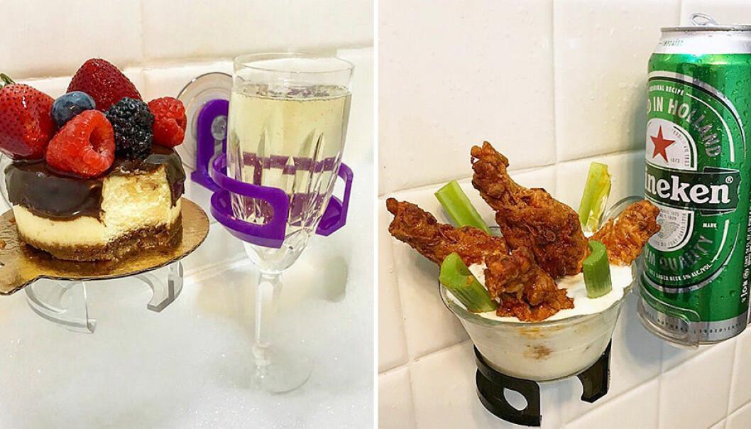 Ta ett glas bubbel i badet – eller varför inte en bärs!