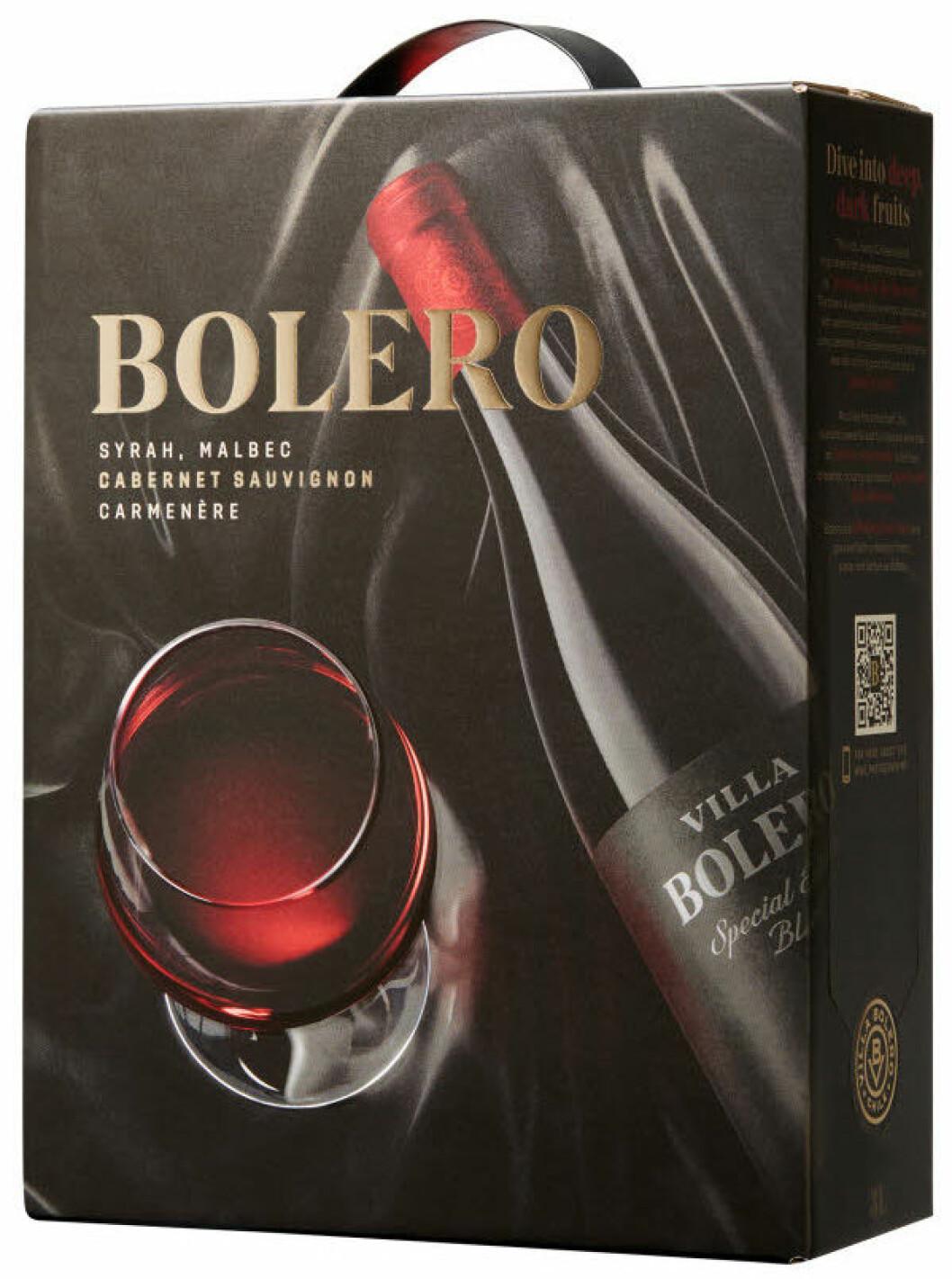 Bolero (nr 2731) Chile: Valle Central, 229 kr.