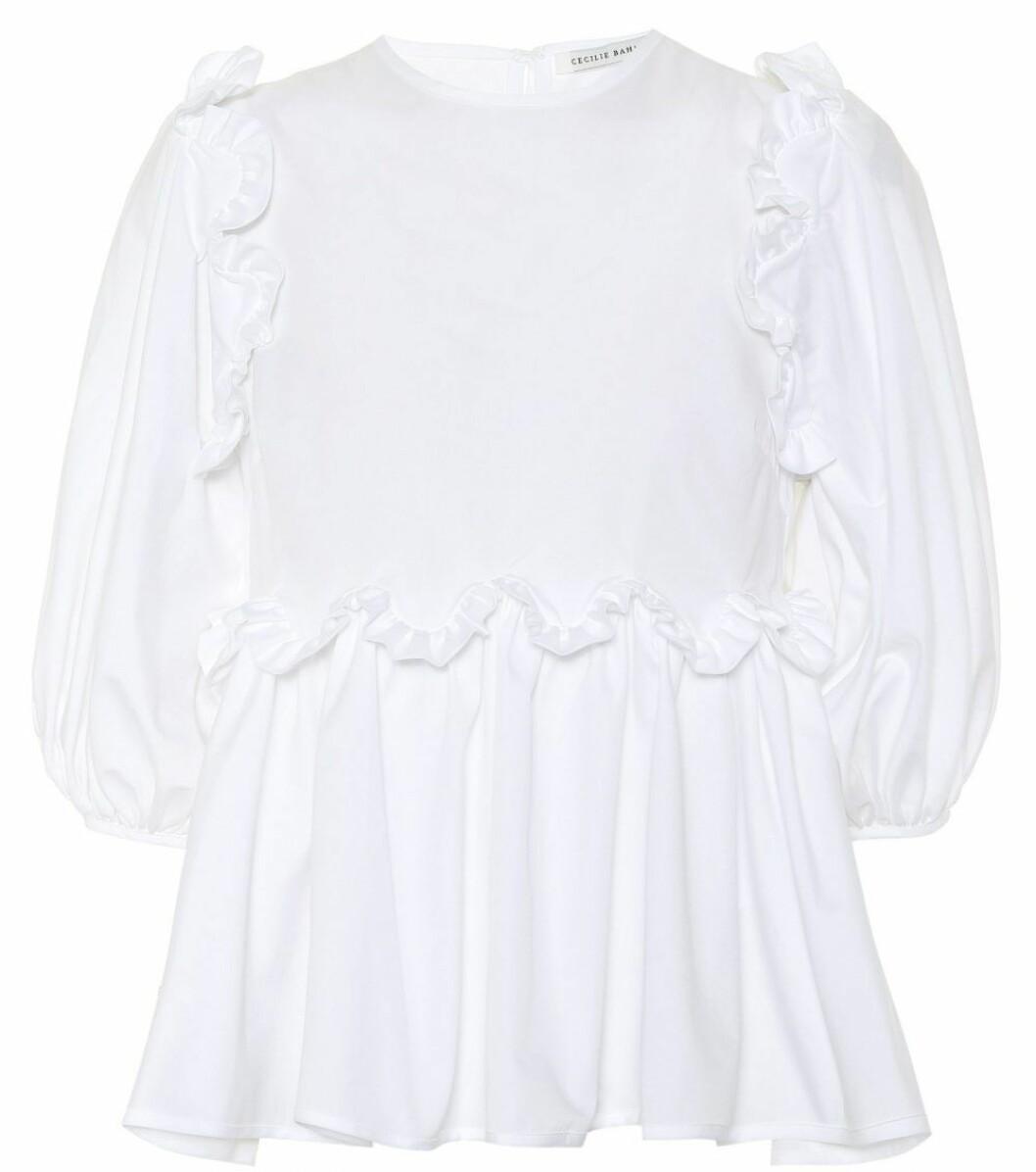 vit blus från danska Cecilie Bahnsen
