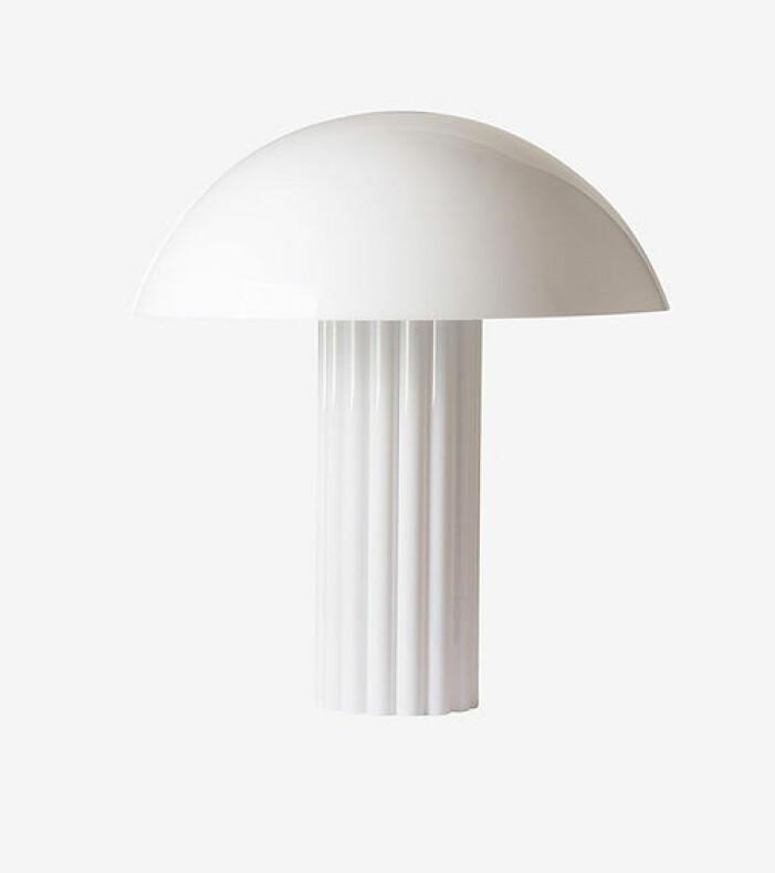 Vit bordslampa, HKliving